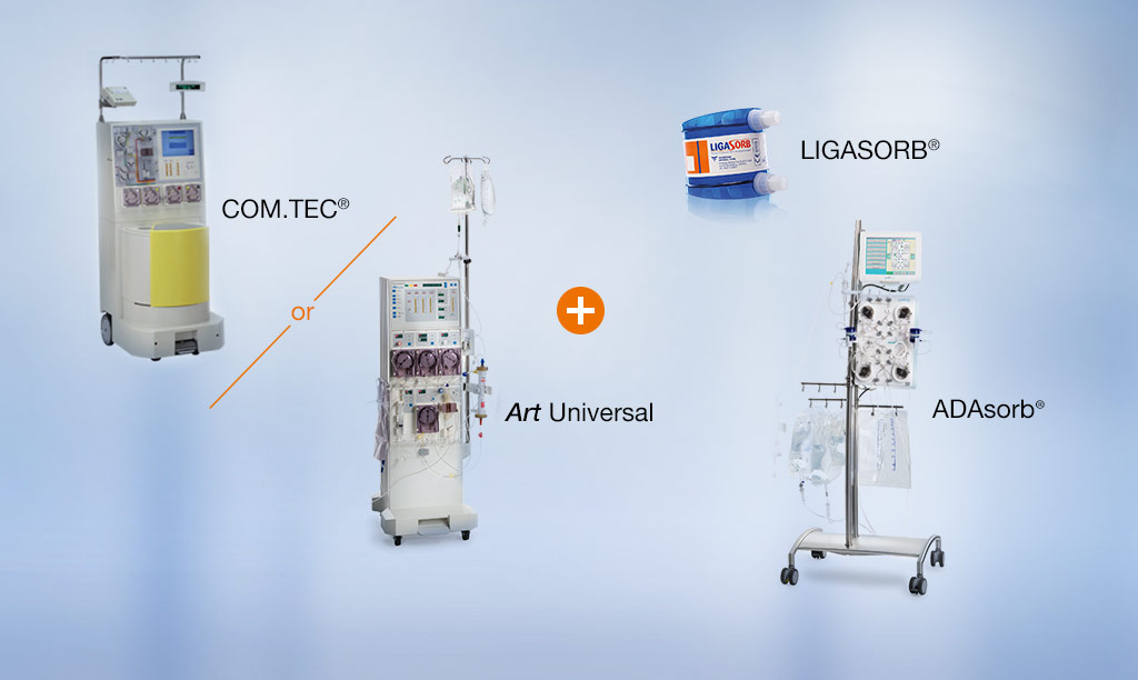 LIGASORB Clinical setup