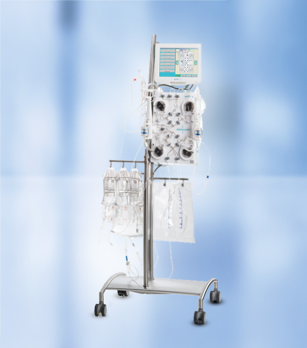 ADAsorb therapeutic apheresis machine