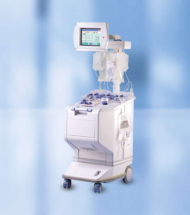 Amicus therapeutic apheresis machine