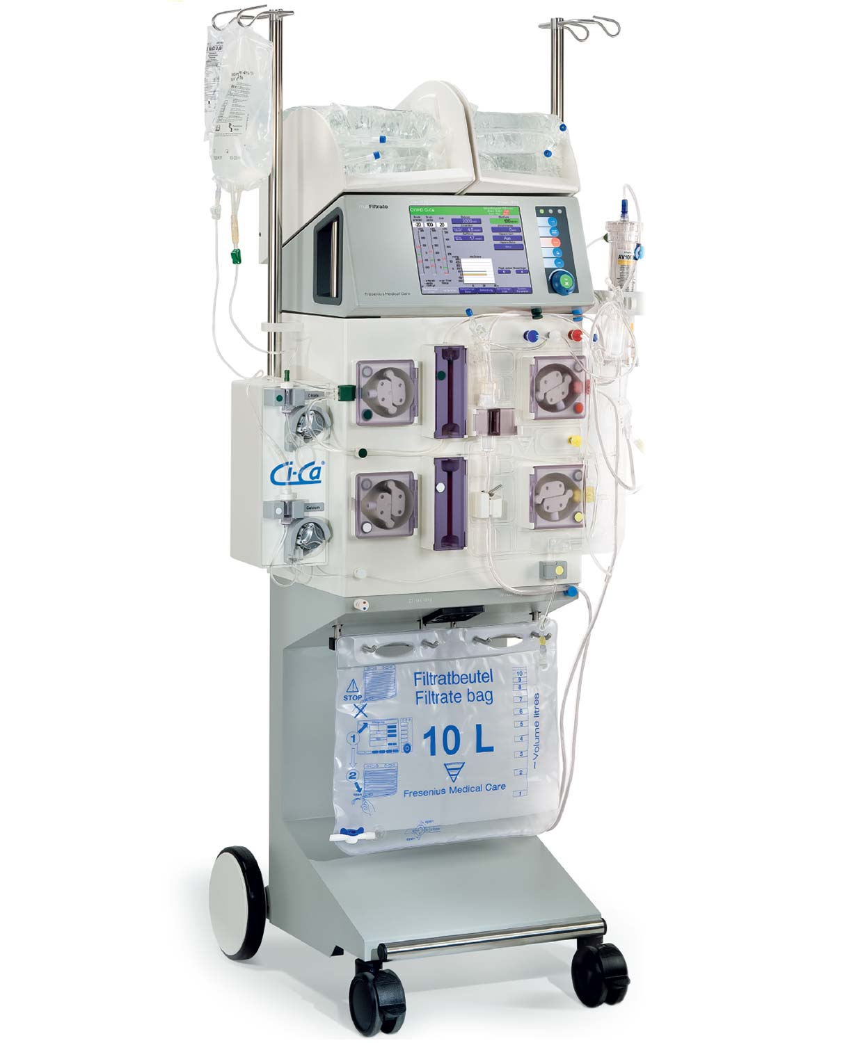 multiFiltrate acute therapy machine with Ci-Ca® module